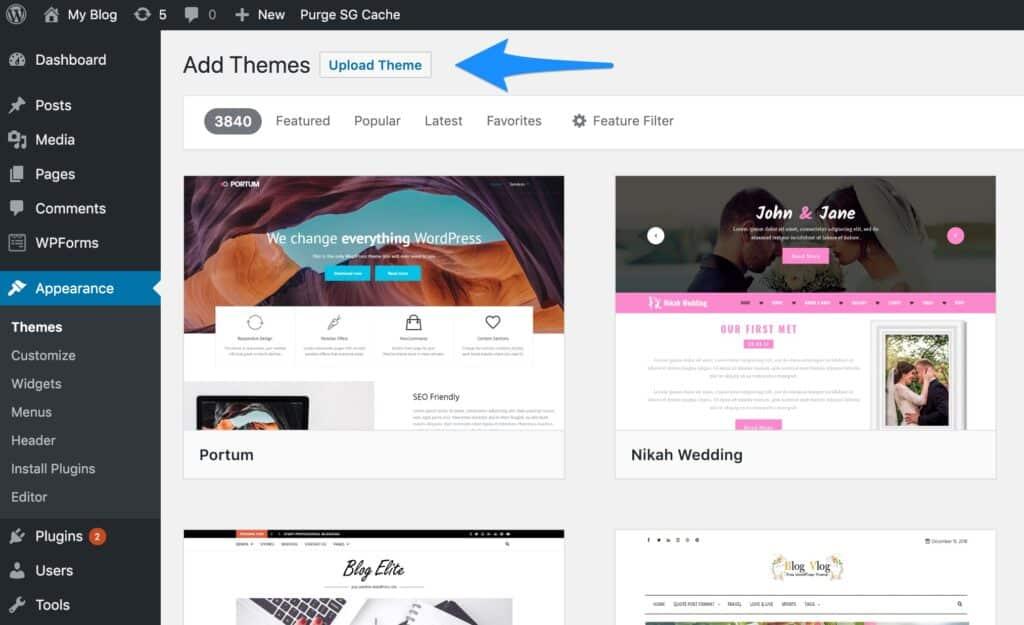 Choose Premium WordPress Theme for New WordPress Blog