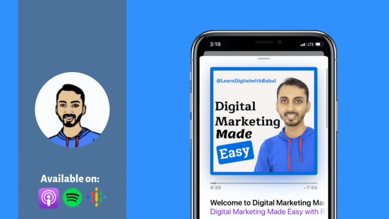 Welcome to Digital Marketing Made Easy Podcast