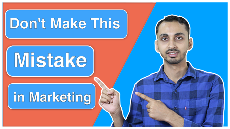 Marketing Mistake - Biggest Online Marketing Mistakes I Ever Made