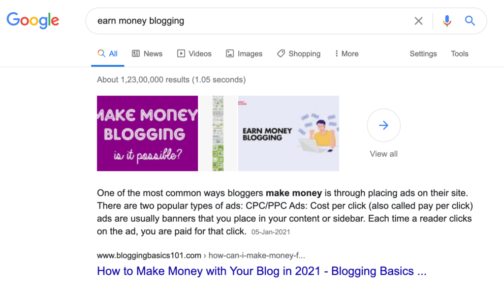 Keyword Research Technique for More Blog Traffic to Make Money Blogging