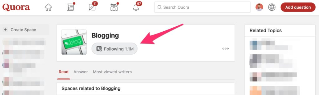 Find Blog Post Ideas from Quora - Using Quora to Get New Topics to Write About