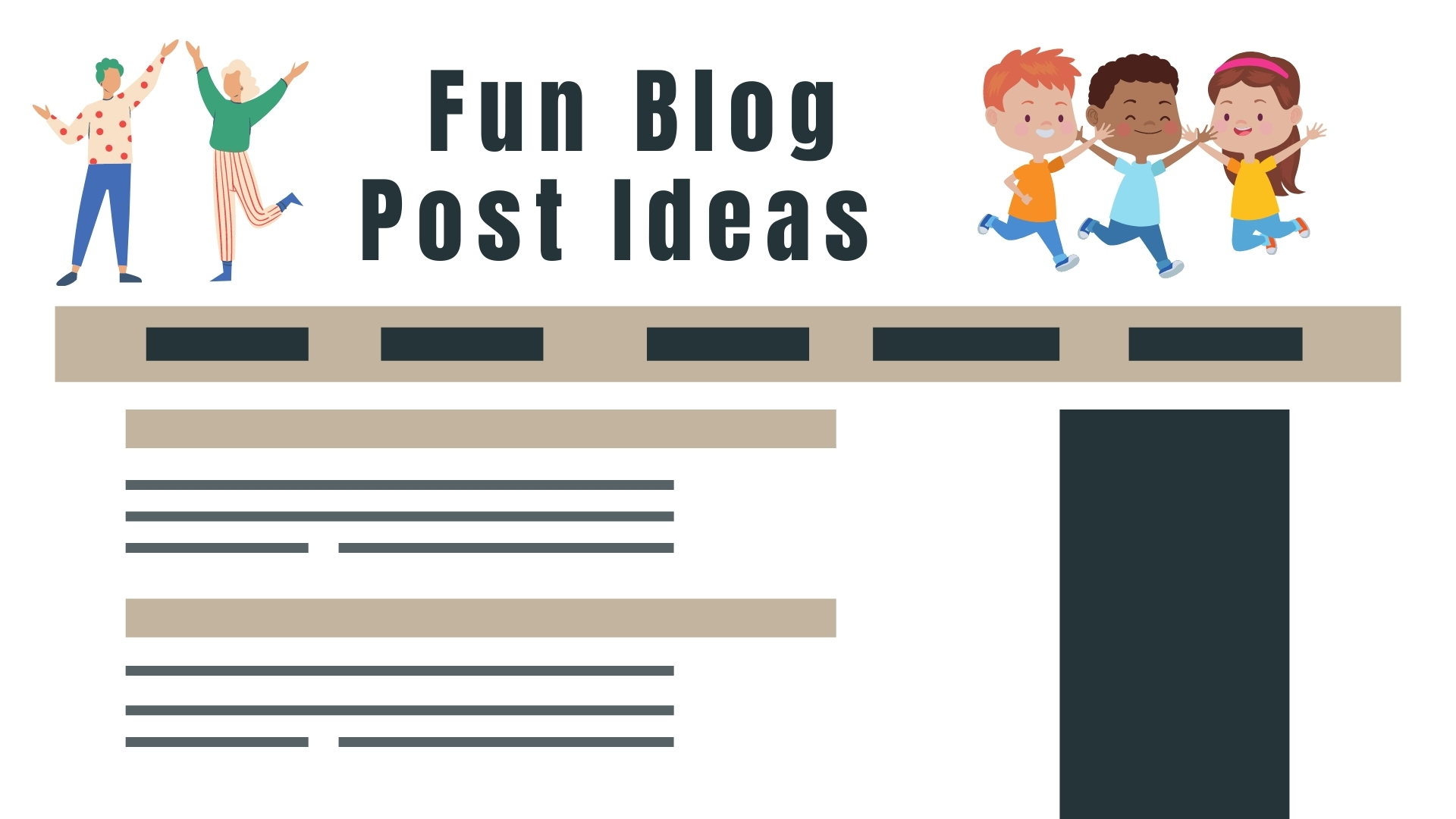 Fun Blog Post Ideas - Find Funny Blog Topic Ideas and Blog Post Ideas to Write About