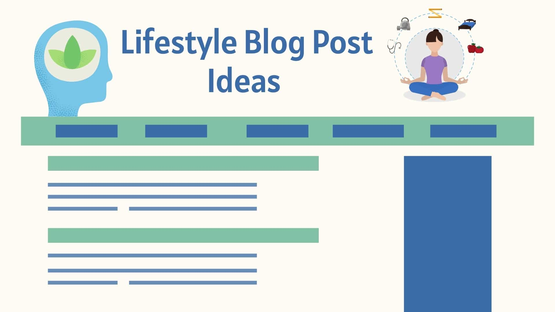 Lifestyle Blog Post Ideas - Find Lifestyle Blog Topic Ideas and Blog Post Ideas to Write About