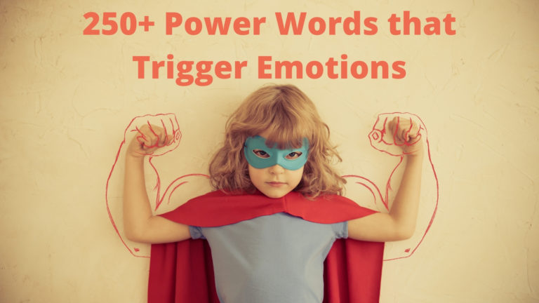 Power Words - 250+ Power Words Examples that Trigger Emotions and Boost Sales