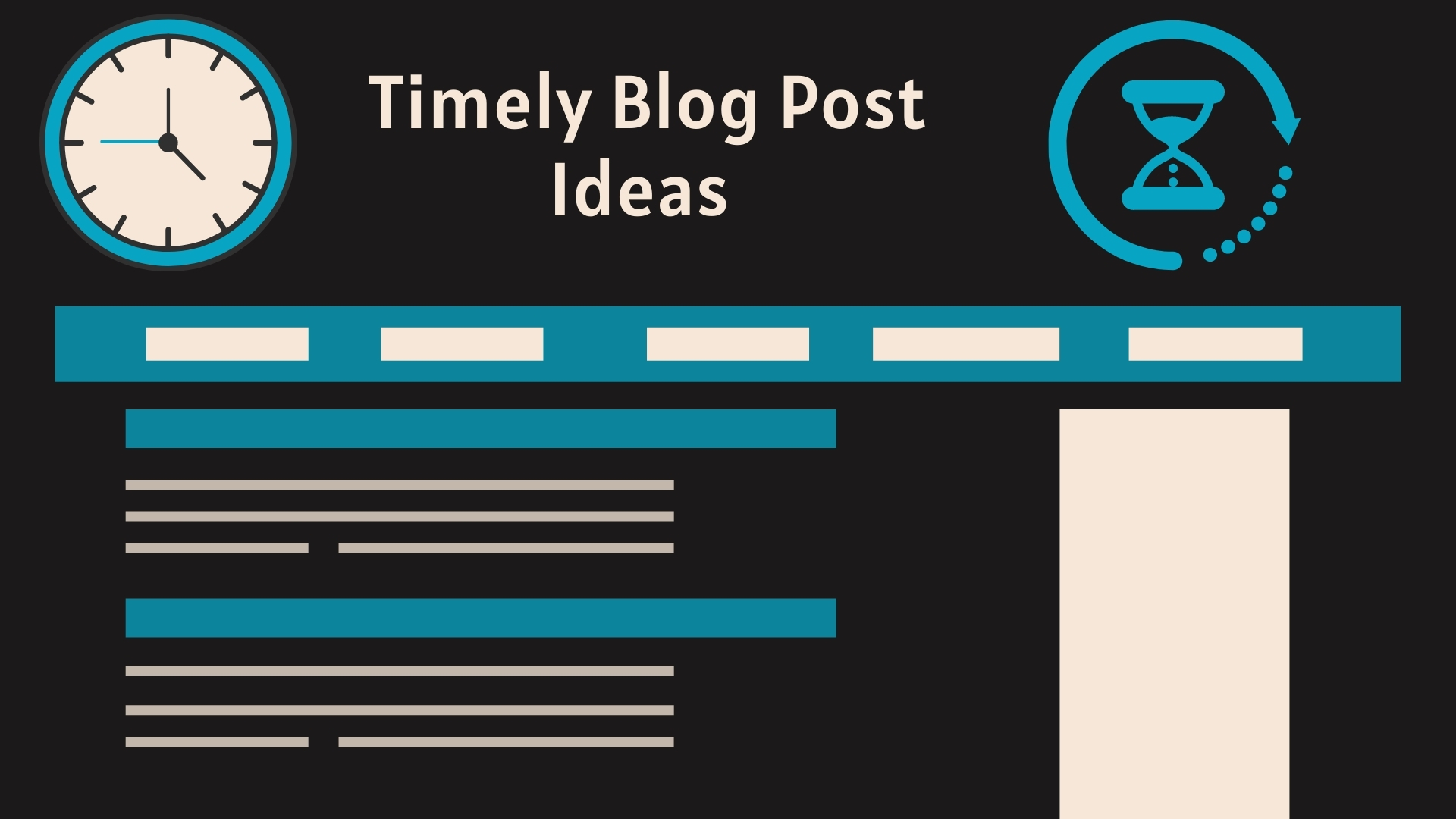 Timely Blog Post Ideas - Find Time-Sensitive Blog Topic Ideas and Blog Post Ideas to Write About